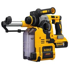 """20V MAX* XR Brushless 1"""" L-Shape SDS Plus Rotary Hammer Kit with On Board Dust Extractor"""