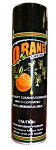 Orange Cleaning Solution