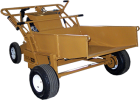 Bucket Attachment for Power Buggy - Standard
