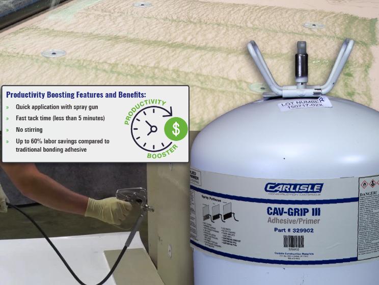 CAV-GRIP III - Best In Roofing Bonding Adhesive