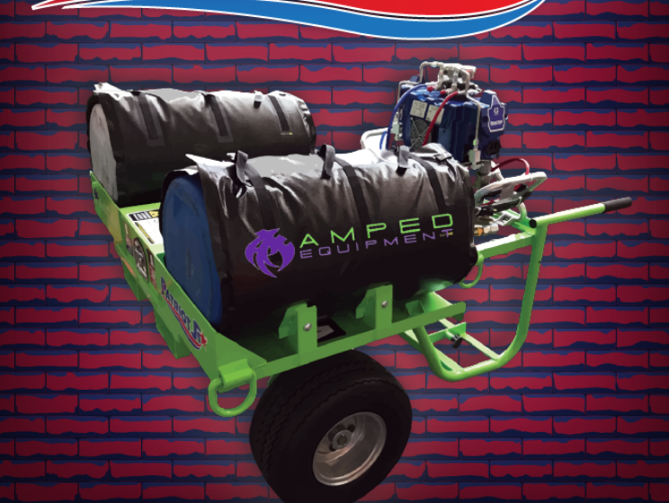 Best In Roofing, Winter 2019: Heated Mobile Spray Foam Cart - The Patriot Junior (PJR)